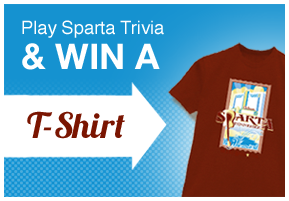 Play sparta trivia & win a t-shirt